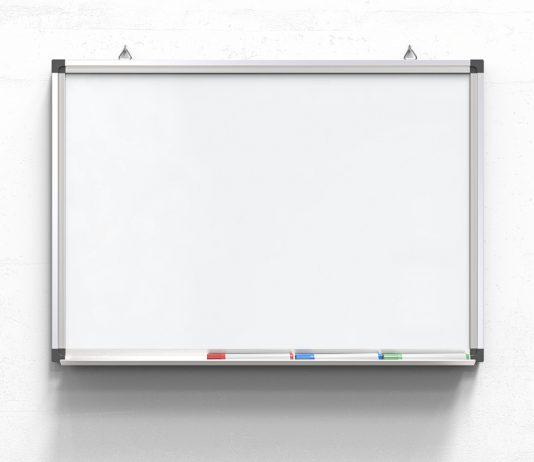 Das beste Whiteboard bleibt weiß und hält ewig
