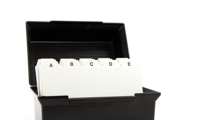 Die besten Visitenkartenboxen