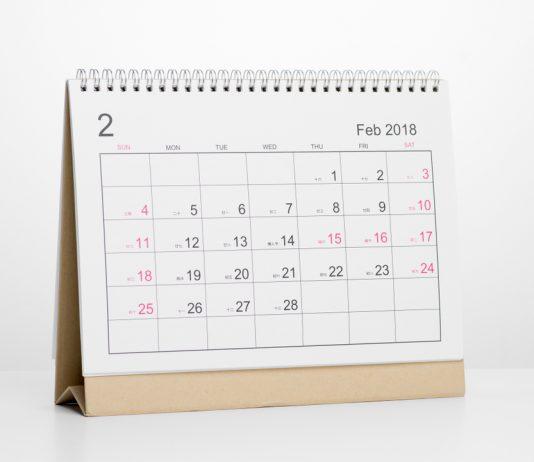 Tisch Kalender
